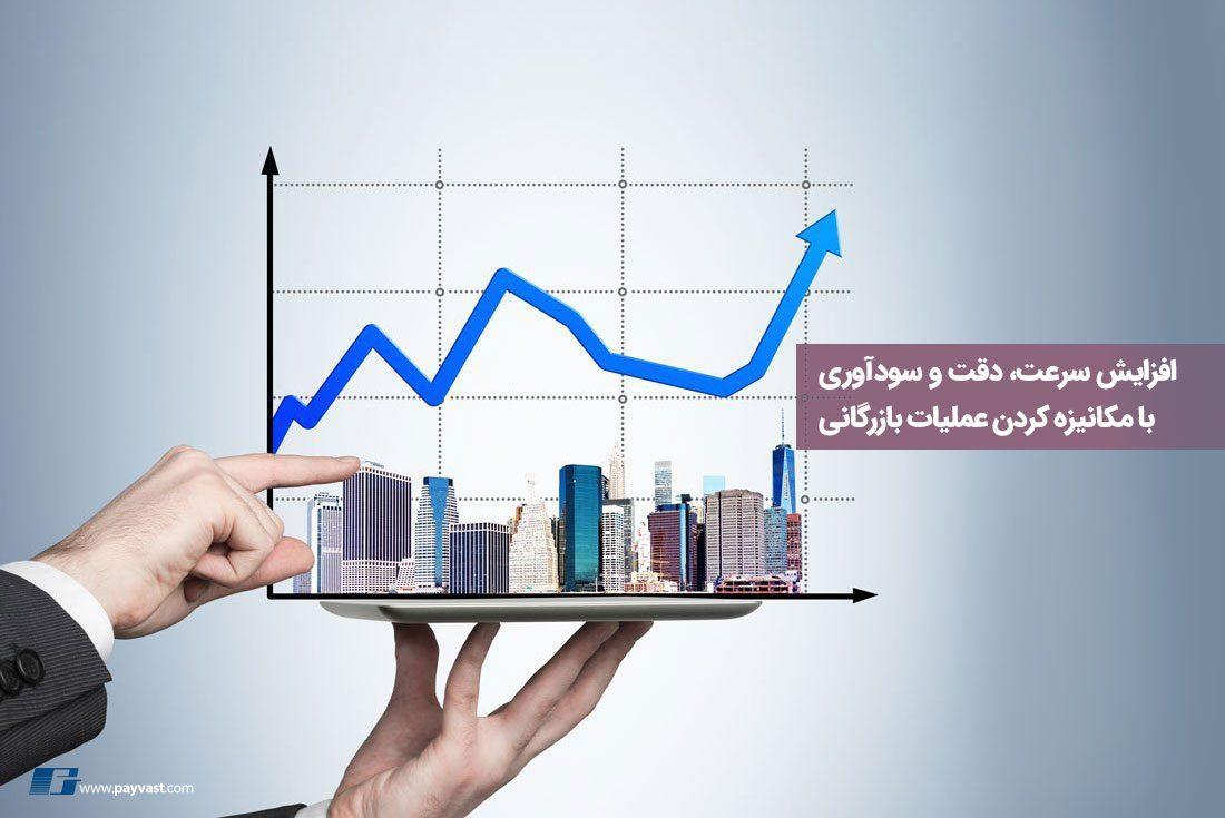 افزایش سرعت، دقت و سودآوری با مکانیزه کردن عملیت بازرگانی
