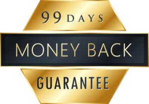 99 days money back guarantee